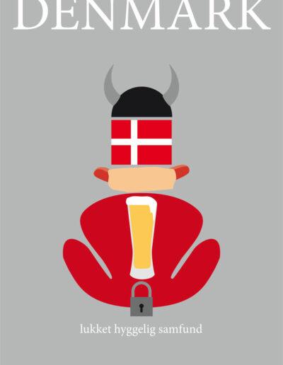 Denmark lukket Poster 2020