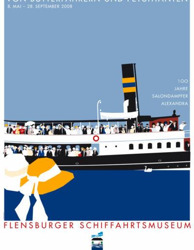 Schifffahrtsmuseum Damper Alexandra 2018