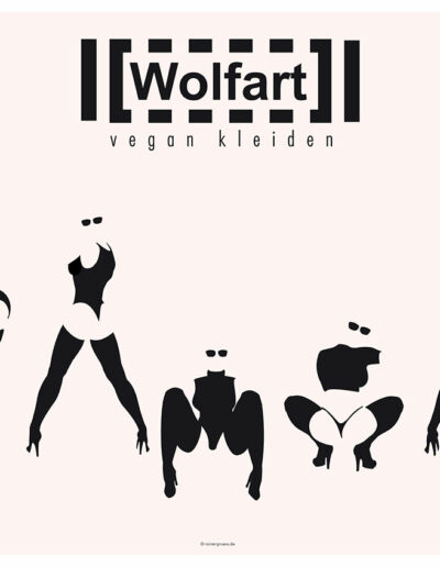Wolfart vegan Poster 2017